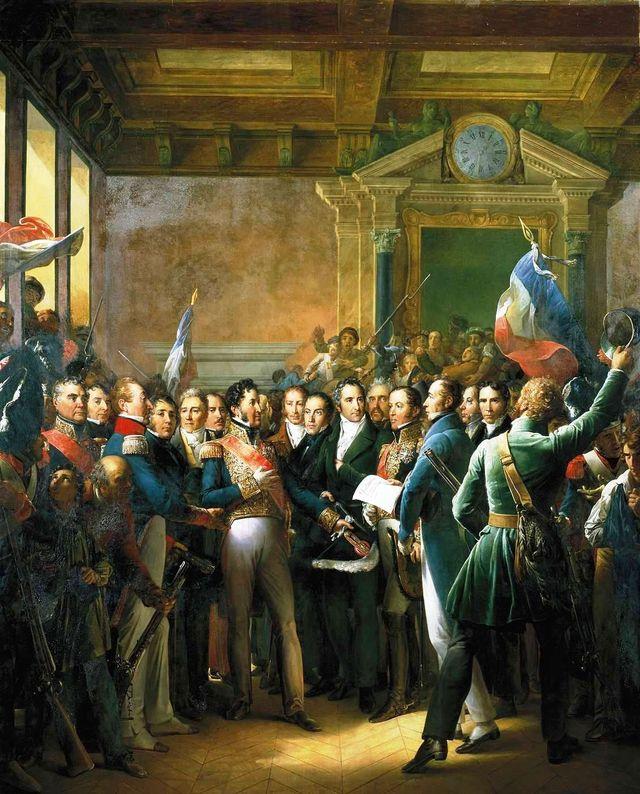 Déclaration des Députés et Proclamation du Duc d'Orléans, lieutenant général du Royaume le 31 juillet 1830
