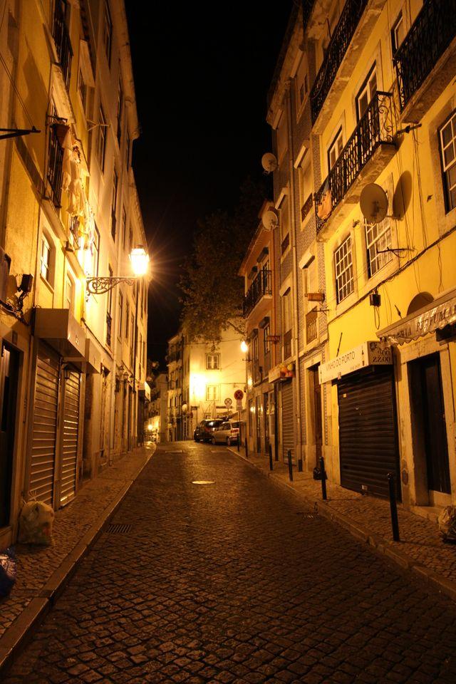 Lisbonne ce soir là