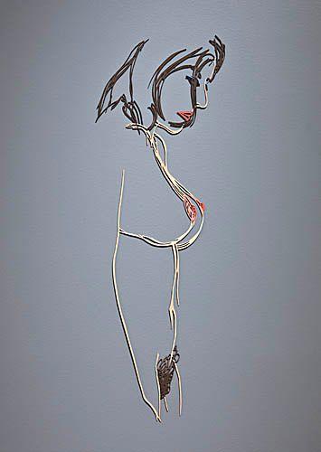T.Wesselmann, Standing Nude(VariationNo.7), 1985