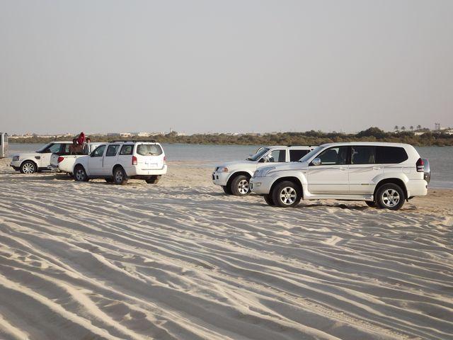 La plage de Furaiwit au nord de Dora