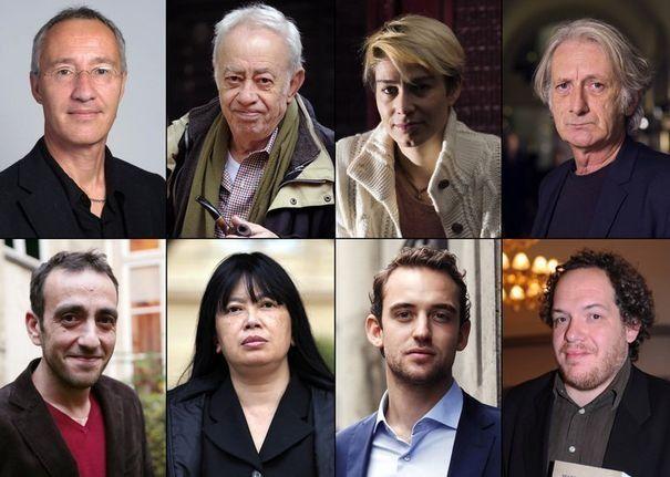 Auteurs prix littéraires 2012