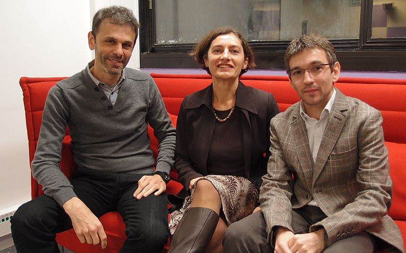 Roei Amit, Anne-Laure Stérin et Rémi Mathis