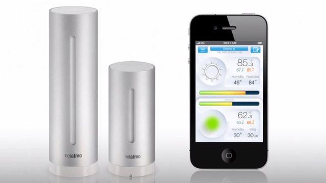 Netatmo mesure la qualité de l'air extérieur et intérieur
