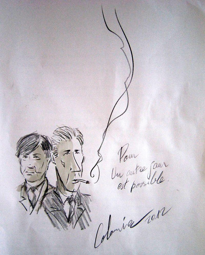 dessin de Laurent Colonnier