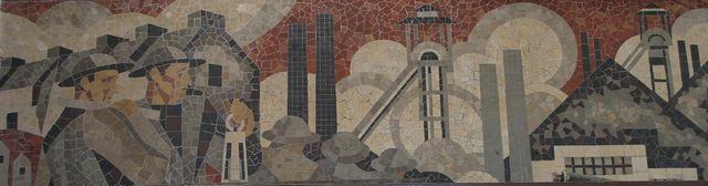 Mosaique Gare de Lens