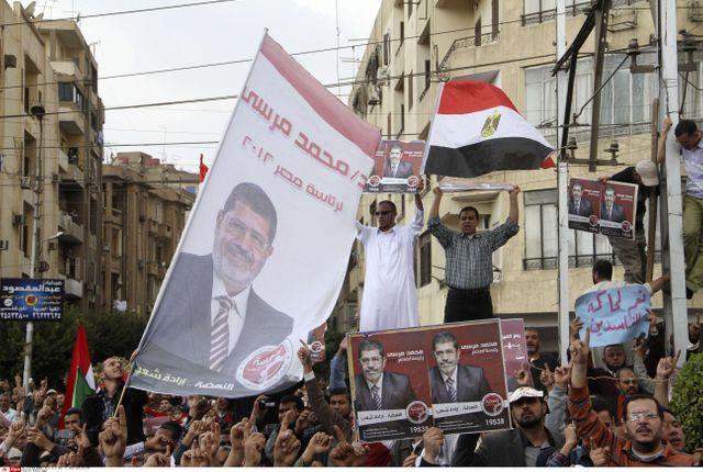 Manifestation de soutien au président Morsi