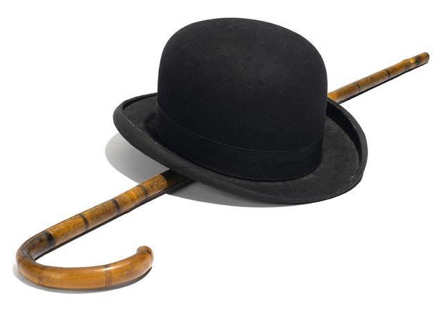 Le chapeau et la canne de Charlot