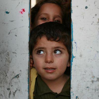 Des enfants à Gaza