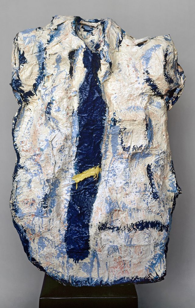 Claes Oldenburg, Big White Shirt with Blue Tie 1961