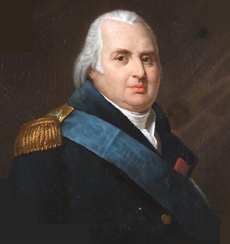 Portrait de Louis XVIII - Ecole française - XIXe siècle