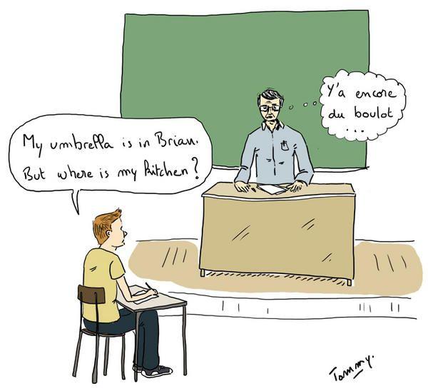 Apprentissage de l'anglais : y'a encore du boulot !