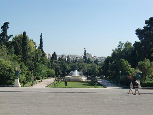Le parc Zappeion