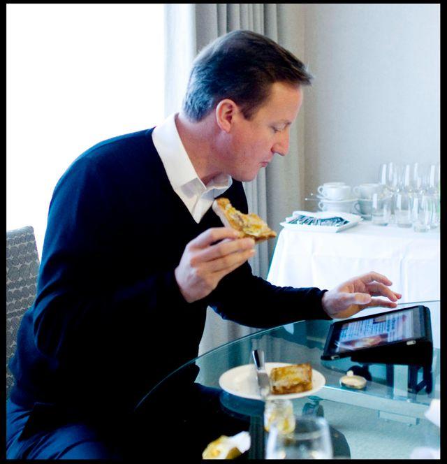 David Cameron est réputé accro à son iPad