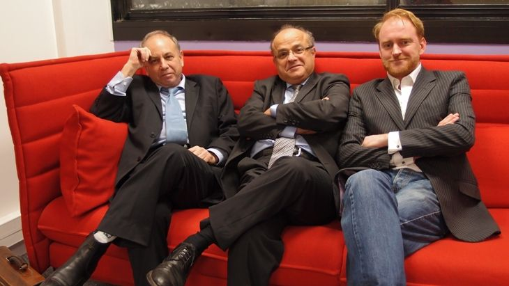 Michel Galy, Jean-Christophe Belliard, Arnaud Contreras