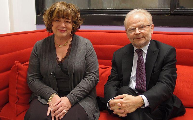 Martine Martinel et Christian Kert