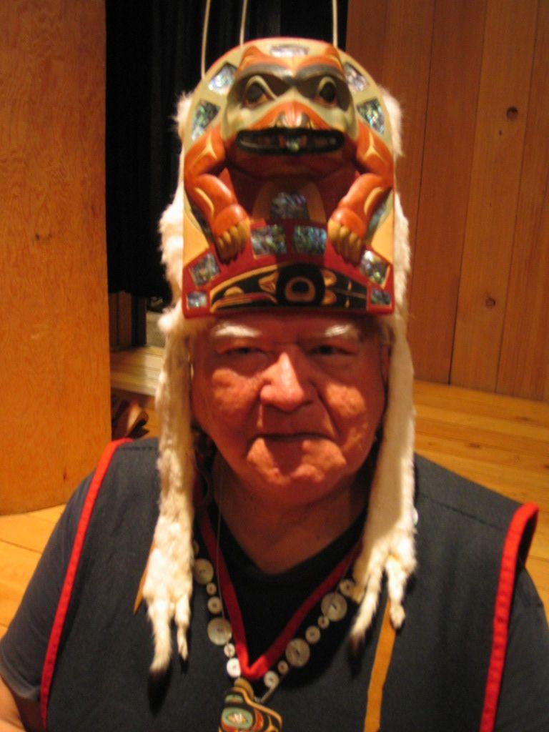 chef de clan tlingit à Hoonah
