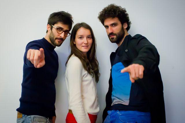 Julien Honoré, Anaïs Demoustier, Sébastien Pouderoux