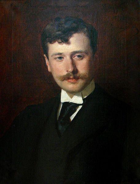 Portrait de Georges Feydeau par Carolus-Duran
