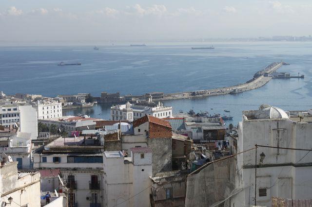 Vue d'Alger depuis la Casbah
