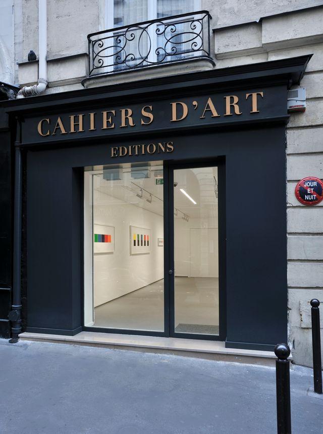 La libraire galerie de la rue du dragon à Paris, cahiers d'art