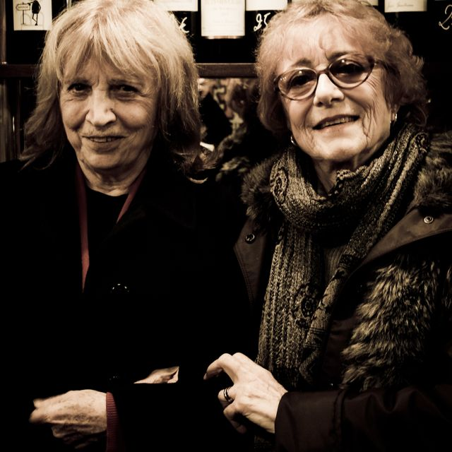 Marie Therese Orain et Francesca Solleville