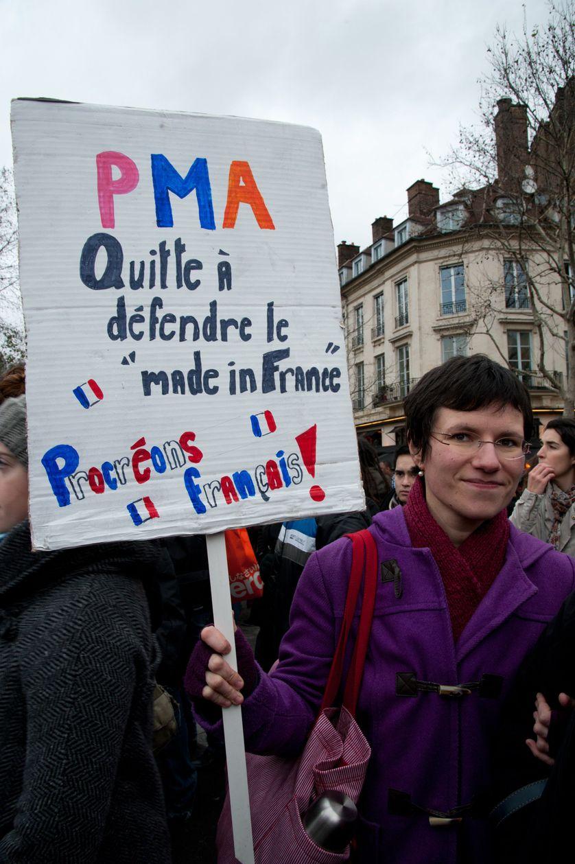 16 decembre 2012 Manifestation pour l'égalité à Paris