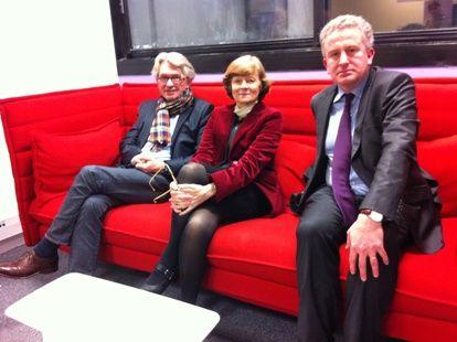Jean-Claude Mailly, Yannick Moreau, Nicolas Tenzer