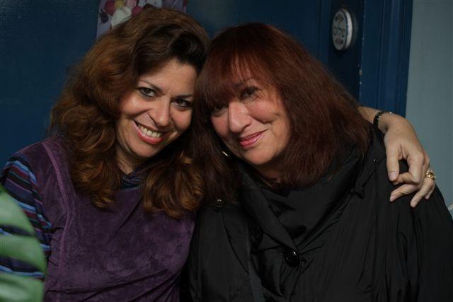 Susie Morgenstern et sa fille Aliyah
