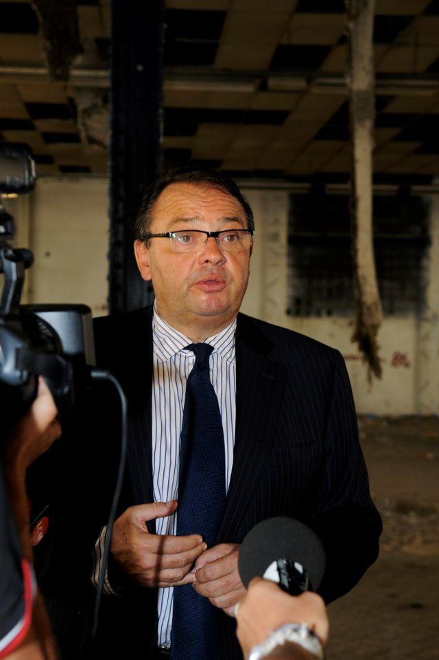 Patrick Menucci, maire du premier secteur de Marseille et députe des Bouches du Rhône