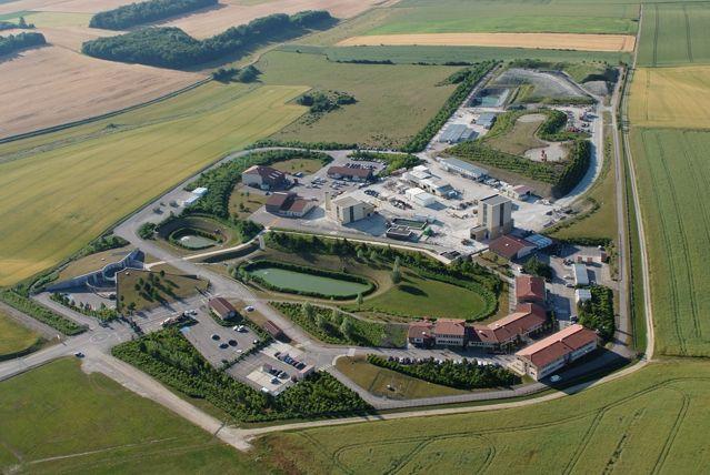 Vue aérienne du Laboratoire souterrain de Meuse/Haute-Marne