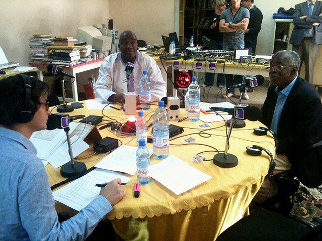 Samuel Sidibé et Daniel Konaté