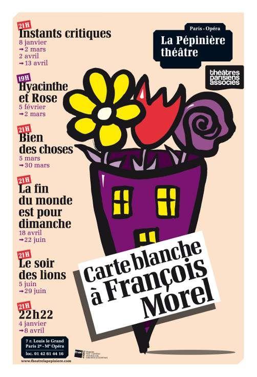 François Morel à la Pépinière