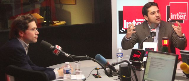 Geoffroy Didier et Arnaud Robinet