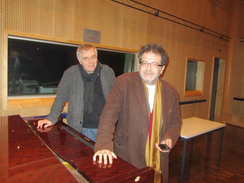 Didier Semin et Hector Obalk