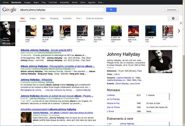 """Google présente sa nouvelle fonction, le """"Knowledge Graph"""""""