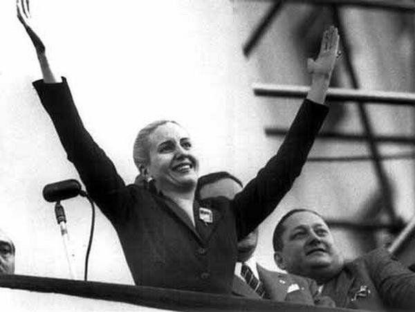 Eva Perón le 22 août 1951