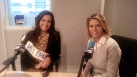 Marine Lorphelin, Miss France 2013, est l'invitée de France Bleu midi vendred 14 décembre