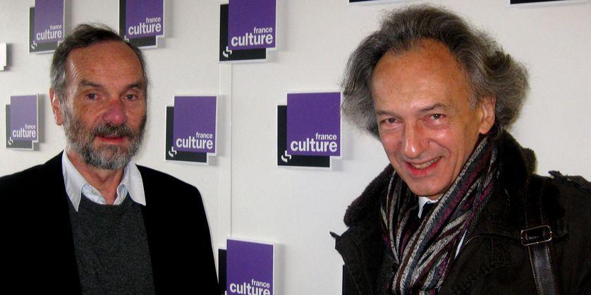 De gauche à droite : Alain Supiot et Christophe Dejours