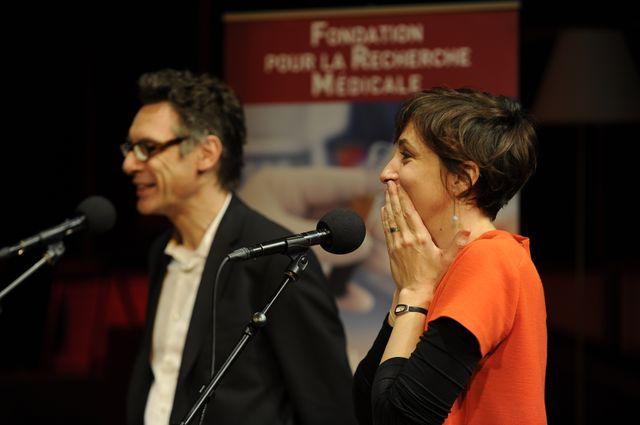 Rebecca Manzoni et Hervé Chneiweiss