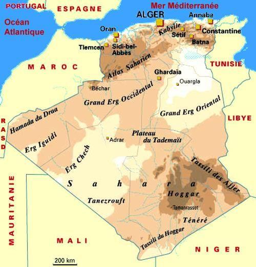 L'Algérie (les enjeux internationaux)
