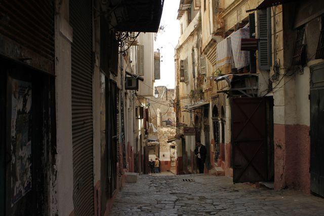 Dans la Casbah d'Alger