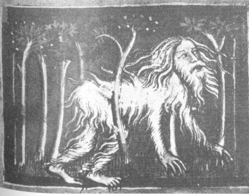 Métamorphose de Nabuchodonosor II en homme sauvage