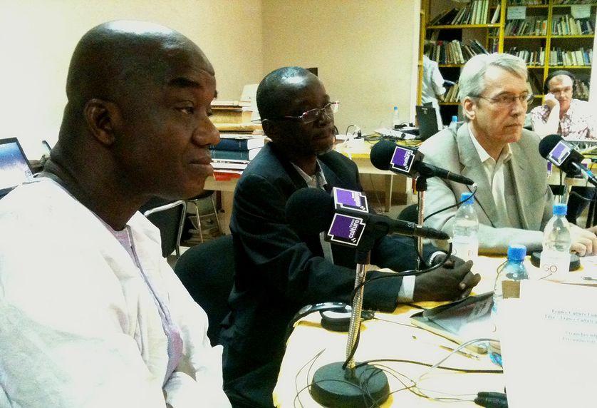Samuel Sidibe, Naffet Keita, et Christian Rouyer