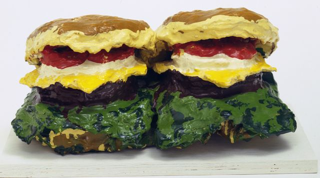 Claes Oldenburg, Two Cheeseburgers, 1962