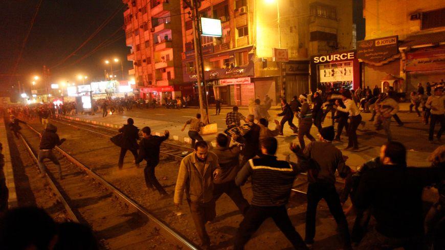 Manifestations mortelles en Egypte