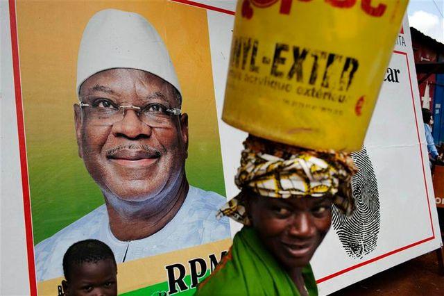 le second tour de la présidentielle malienne opposera ibrahim boubacar keïta à soumaïla cissé