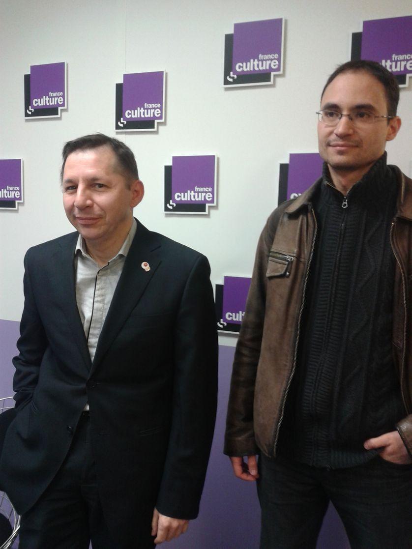 Olivier Cachin et Karim Hammou