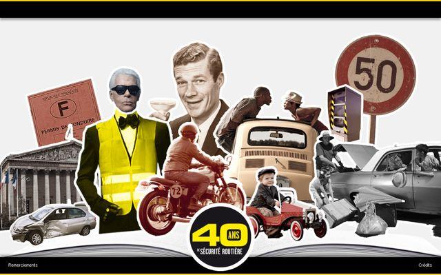 40 ans de sécurité routière