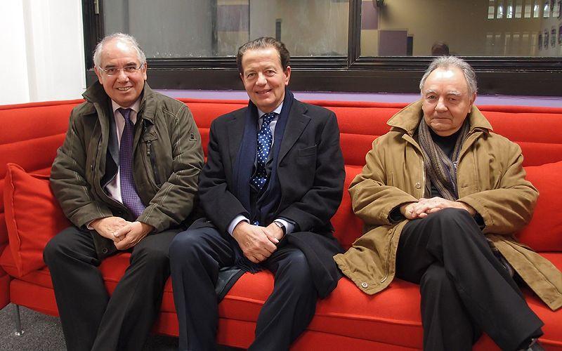 Jean-Louis Baroux, Dominique Perben et Alain Bonnafous
