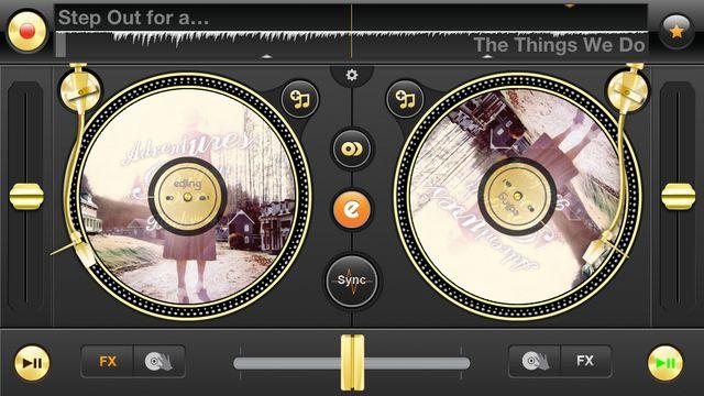 eDJing propose de mixer sa musique